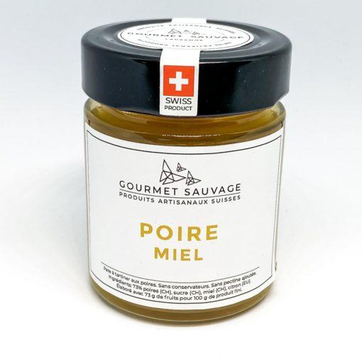 confiture artisanale aux poires et miel