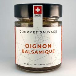 Oignon Balsamique • Confiture artisanale premium suisse • Gourmet Sauvage