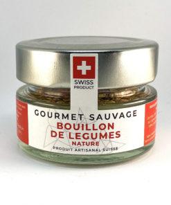 BOUILLON DE LÉGUMES NATURE • Gourmet Sauvage 🇨🇭