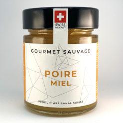 Poire Miel • Confiture artisanale premium suisse • Gourmet Sauvage