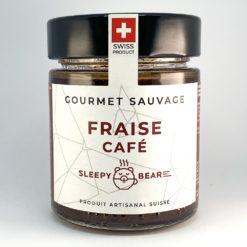 Fraise Café • Confiture artisanale premium suisse • Gourmet Sauvage