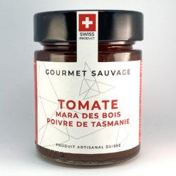 Confiture artisanale suisse Tomates Mara des bois Poivre