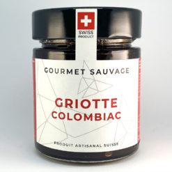 Griotte Colombiac • Confiture artisanale premium suisse • Gourmet Sauvage 🇨🇭