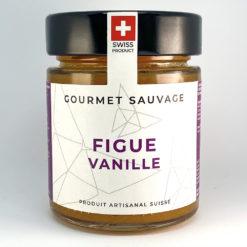 Figue Vanille • Confiture artisanale premium suisse • Gourmet Sauvage