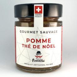 Pomme Thé de Noël • Confiture artisanale premium suisse • Gourmet Sauvage