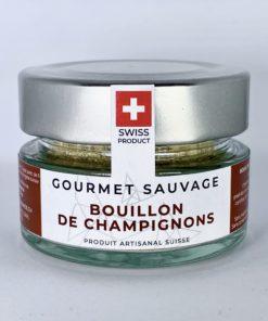 BOUILLON DE CHAMPIGNONS SAUVAGES • Gourmet Sauvage