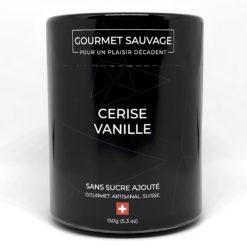 Confiture CERISE VANILLE SANS SUCRE